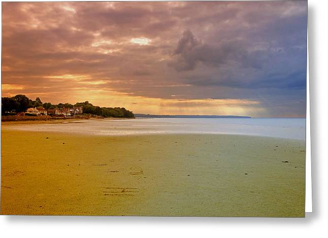Beach Greeting Cards - Cloud Break Over Osbourne Bay Greeting Card by Rod Johnson