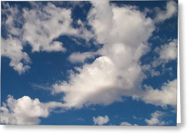 Drifting Digital Art Greeting Cards - Cloud Migration - Series Greeting Card by Glenn McCarthy Art and Photography