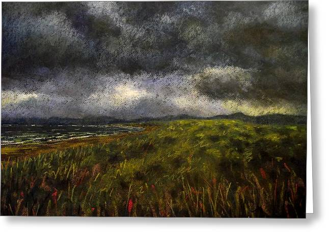 Fine Art Prints Greeting Cards Greeting Cards - Cloud Scape Greeting Card by John  Nolan