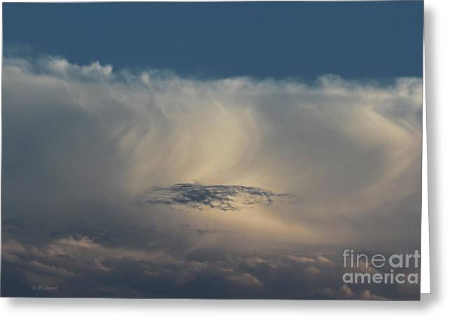Clouds Deborah Benoit Greeting Cards - Cloud Softness Greeting Card by Deborah Benoit
