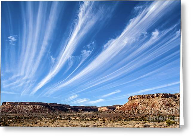 Thin Greeting Cards - Cloud Strings Greeting Card by Scotts Scapes