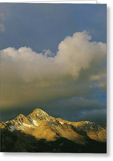 Mount Wilson Greeting Cards - Clouds Above Mount Wilson Greeting Card by Gordon Wiltsie