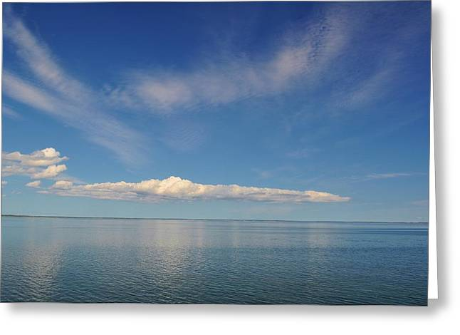 Clouds Of Prince Edward Greeting Card by Jeff Moose