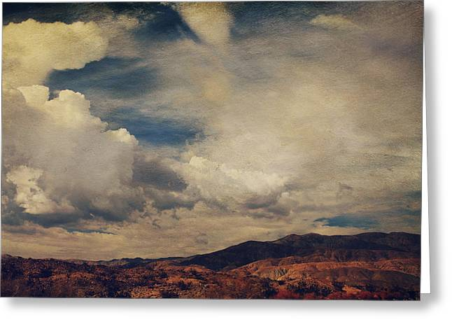 Clouds Please Carry Me Away Greeting Card by Laurie Search