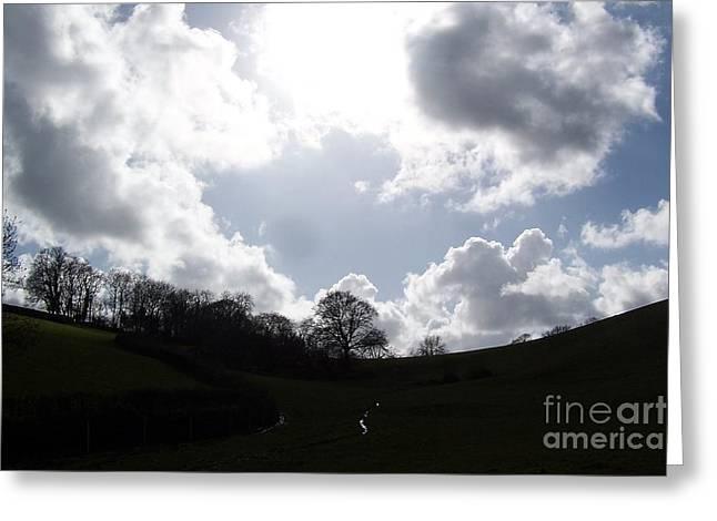 Roberto Edmanson-harrison Greeting Cards - Clouds Greeting Card by Roberto Edmanson-Harrison