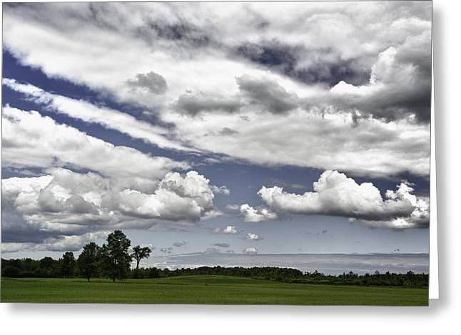 Nature Greeting Cards - Cloudscape Greeting Card by Frank Iusi