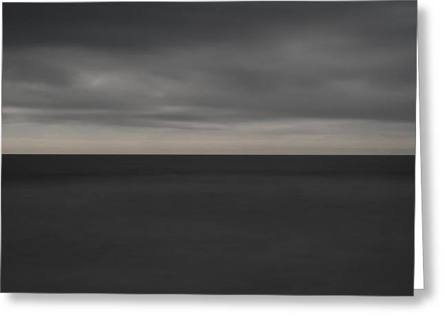 Cloudy Afternoon On Beach Greeting Card by Catherine Lau