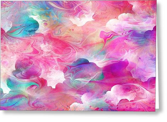 Hallucination Greeting Cards - Cloudy Dreams Greeting Card by Rachel Christine Nowicki