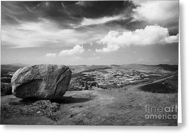 Martin County Greeting Cards - Cloughmore County Down Greeting Card by Joe Fox