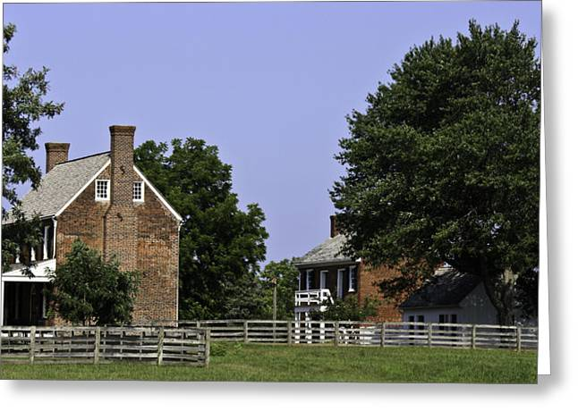 Richmond-lynchburg Stage Road Greeting Cards - Clover Hill Tavern and Kitchen Appomattox Virginia Greeting Card by Teresa Mucha