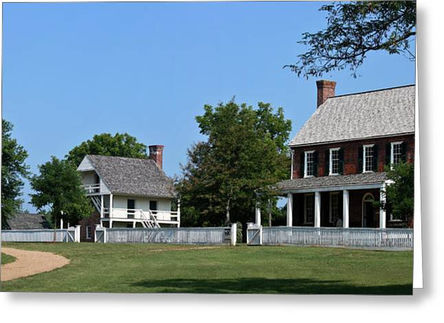 April 9 1865 Greeting Cards - Clover Hill Tavern Appomattox Court House Virginia Greeting Card by Teresa Mucha