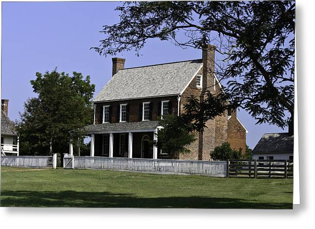 Clover Hill Tavern Appomattox Virginia Greeting Card by Teresa Mucha