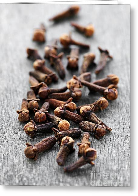 Loose Greeting Cards - Cloves Greeting Card by Elena Elisseeva