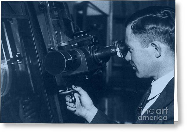 Hypothesis Greeting Cards - Clyde Tombaugh, American Astronomer Greeting Card by Science Source