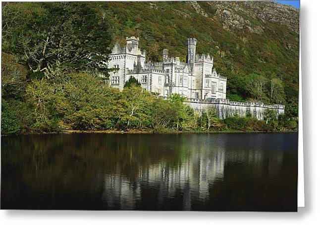 Co Galway, Kylemore Abbey Greeting Card by The Irish Image Collection