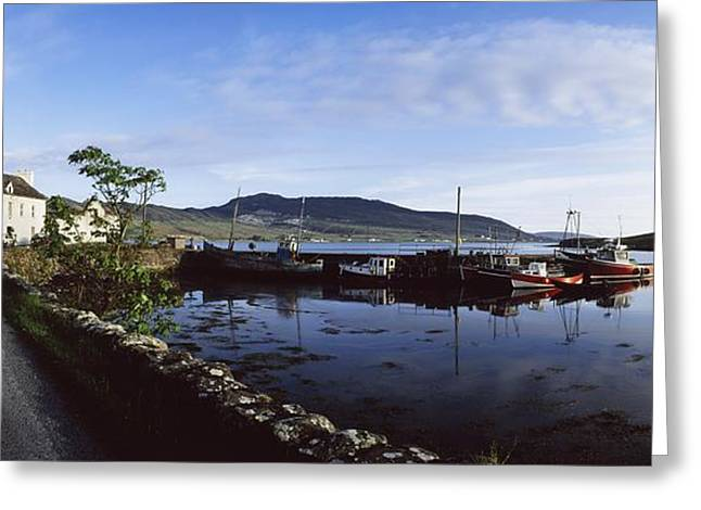 Co Mayo, Achill Sound Greeting Card by The Irish Image Collection