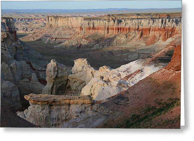 Elizabeth Rose Greeting Cards - Coal Mine Canyon Arizona Greeting Card by Elizabeth Rose