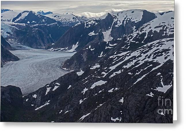 Coastal Range Awakening Greeting Card by Mike Reid