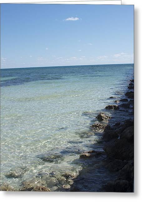 Bonnes Eyes Fine Art Photography Greeting Cards - Coastline of Rocks Greeting Card by Bonnes Eyes Fine Art Photography