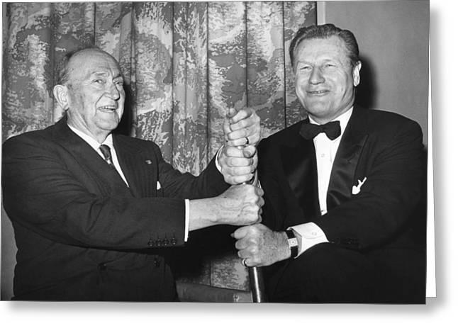 1960 Greeting Cards - Cobb & Rockefeller, 1960 Greeting Card by Granger