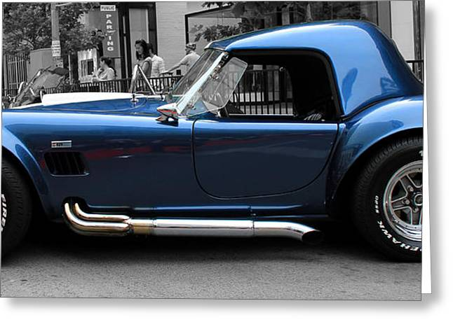 Cobra Photographs Greeting Cards - Cobra 429 Greeting Card by Andrew Fare