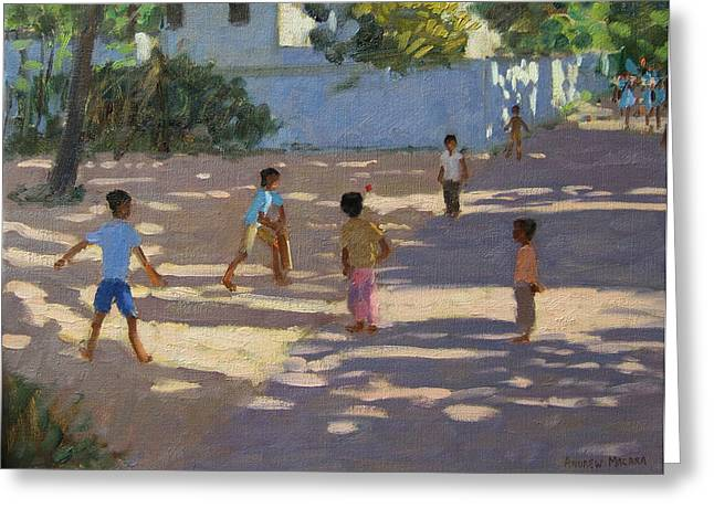 Kerala Greeting Cards - Cochin Greeting Card by Andrew Macara