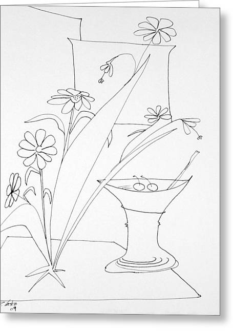 Denny Casto Greeting Cards - Cocktail Greeting Card by Denny Casto