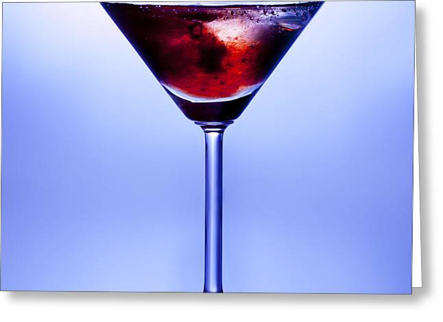 Cocktail Greeting Card by Jane Rix