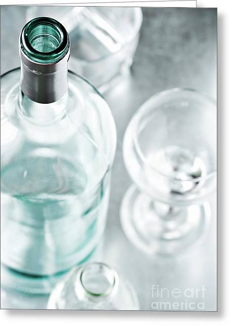 Ice Wine Greeting Cards - Cocktails Greeting Card by HD Connelly
