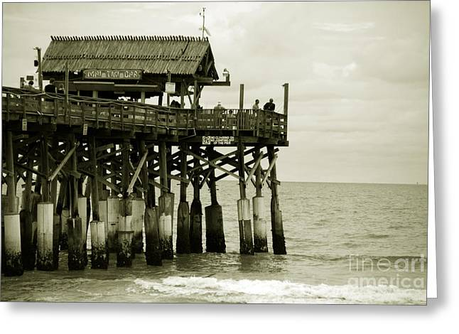 Florida House Greeting Cards - Cocoa Beach FL II Greeting Card by Susanne Van Hulst