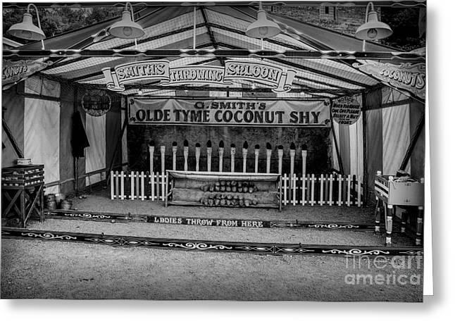 Coconut Shy 2 Greeting Card by Adrian Evans