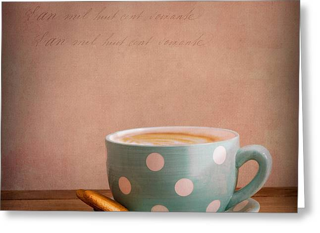 Coffee Greeting Cards - Coffee Break Greeting Card by Ian Barber
