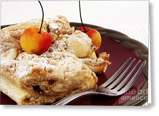 Coffee cake Greeting Card by Blink Images