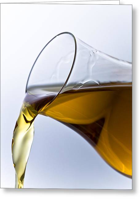 Wine Pour Greeting Cards - Cognac Greeting Card by Frank Tschakert