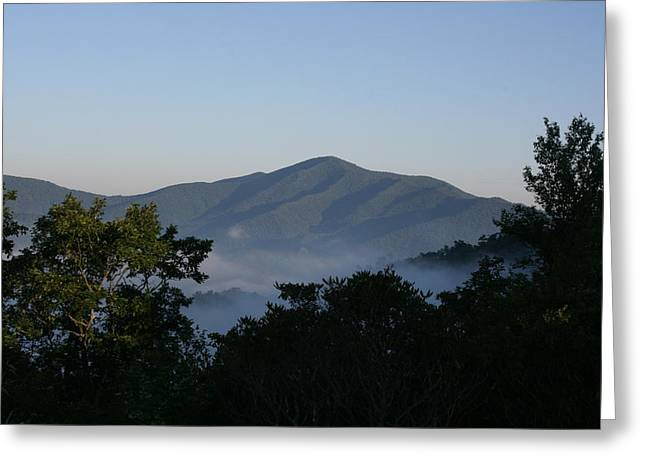 Wood. Commissions Greeting Cards - Cold Mountain North Carolina Greeting Card by Stacy C Bottoms