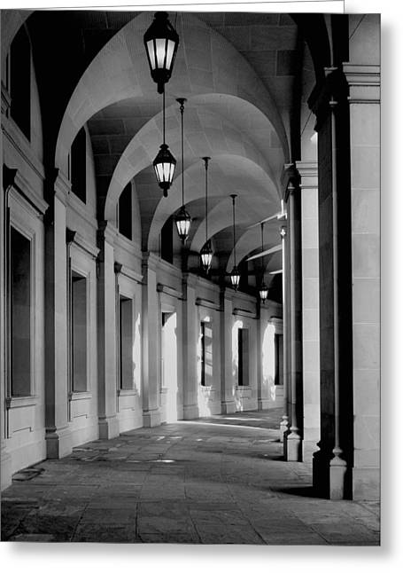 D.w Greeting Cards - Collanade II Greeting Card by Steven Ainsworth