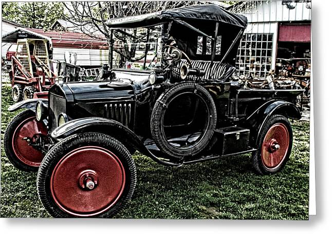Ford Model T Car Greeting Cards - Collectors Dream Greeting Card by Kristie  Bonnewell