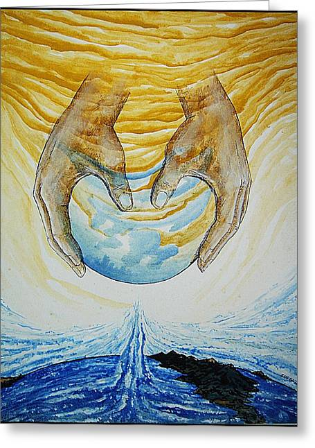 Strategy Mixed Media Greeting Cards - Collision Of Worlds Greeting Card by Paulo Zerbato