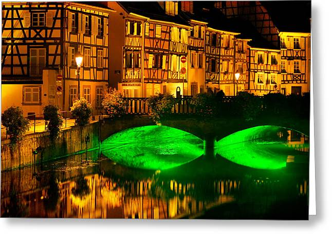 Alsace Greeting Cards - Colmar Greeting Card by John Galbo