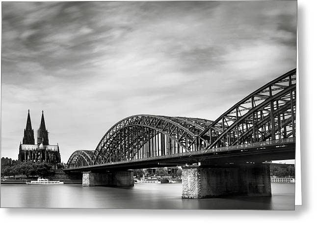 Deutschland Greeting Cards - Cologne Dome Greeting Card by Nina Papiorek