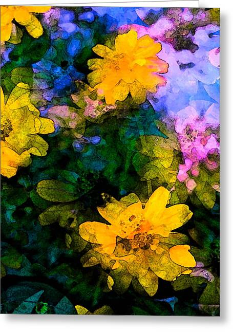 Color 108 Greeting Card by Pamela Cooper