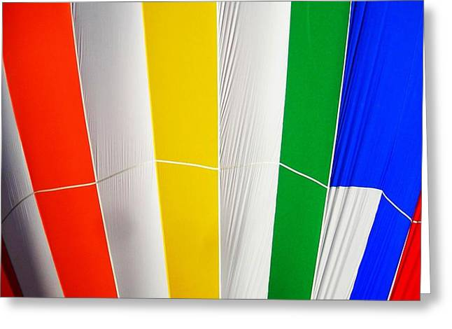 Color in the Air Greeting Card by Juergen Weiss
