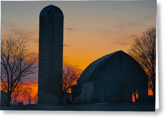 Rural Indiana Greeting Cards - Color the Day Greeting Card by F Lee Photography