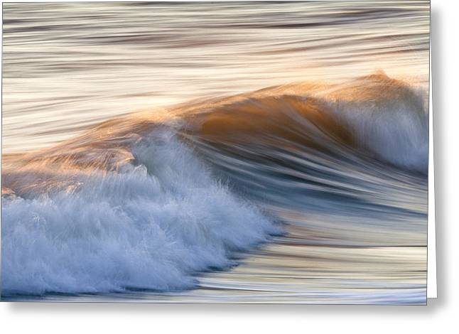 Beach Photographs Greeting Cards - Color Wave ll Greeting Card by Rob Travis