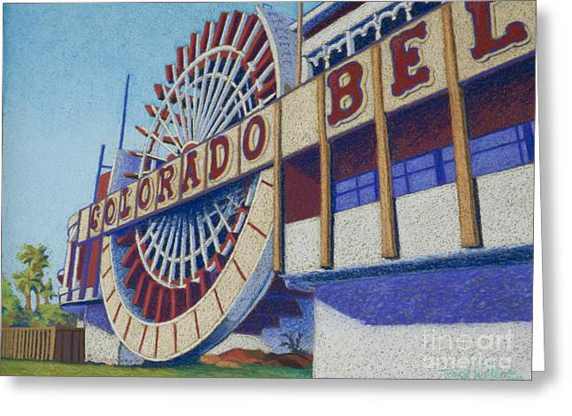 Colorado Pastels Greeting Cards - Colorado Bell Greeting Card by Tracy L Teeter