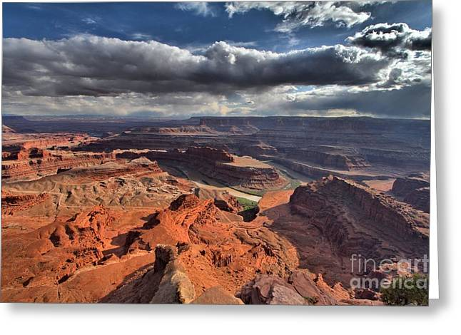 Dead Horse Point Greeting Cards - Colorado In The Distance Greeting Card by Adam Jewell