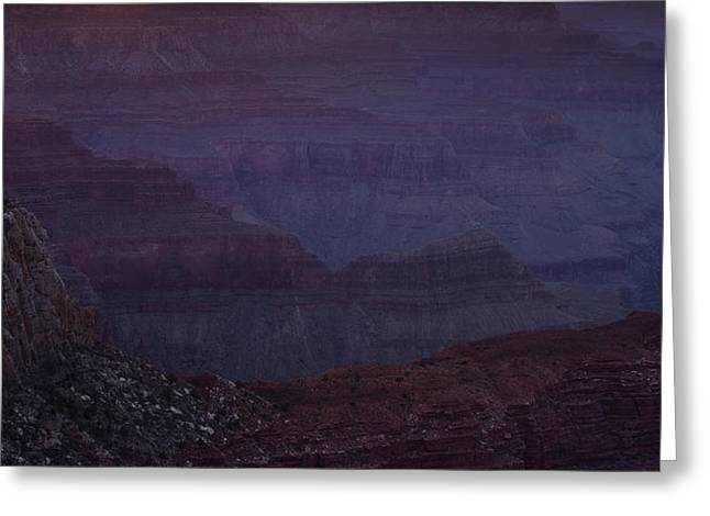 South Rim Greeting Cards - Colorado River at the Grand Canyon Greeting Card by Andrew Soundarajan