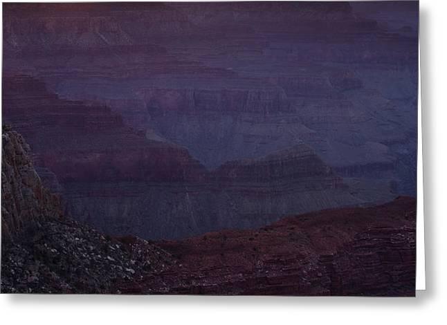 Colorado River at the Grand Canyon Greeting Card by Andrew Soundarajan