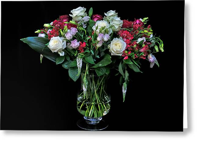 Dutch Greeting Cards - Colorful bouquet Greeting Card by Ruud Morijn