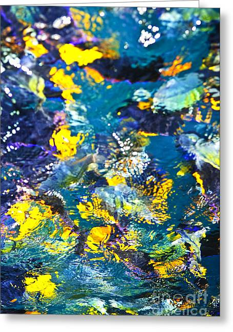 Vivid Colour Greeting Cards - Colorful tropical fish Greeting Card by Elena Elisseeva